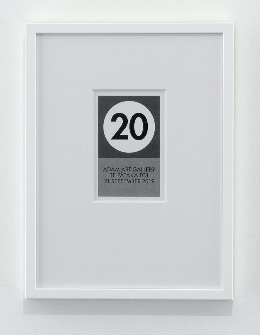 20 Years installation 040 Billy Apple Framed Edition Low Res
