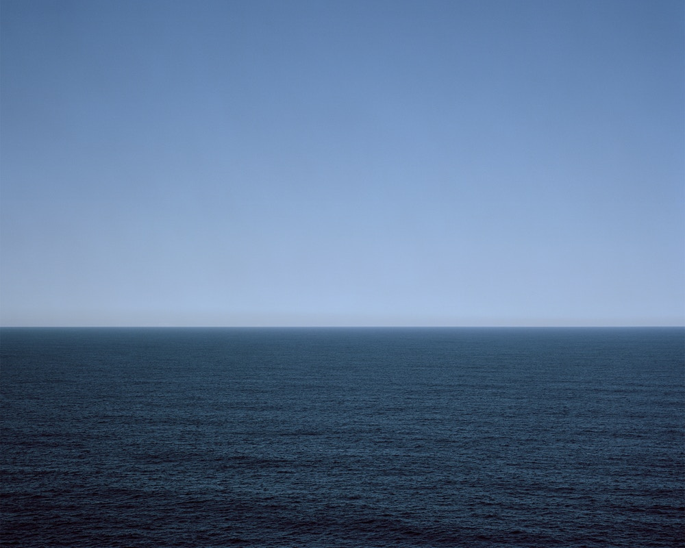 Harry Culy Seascape blue midday 2014