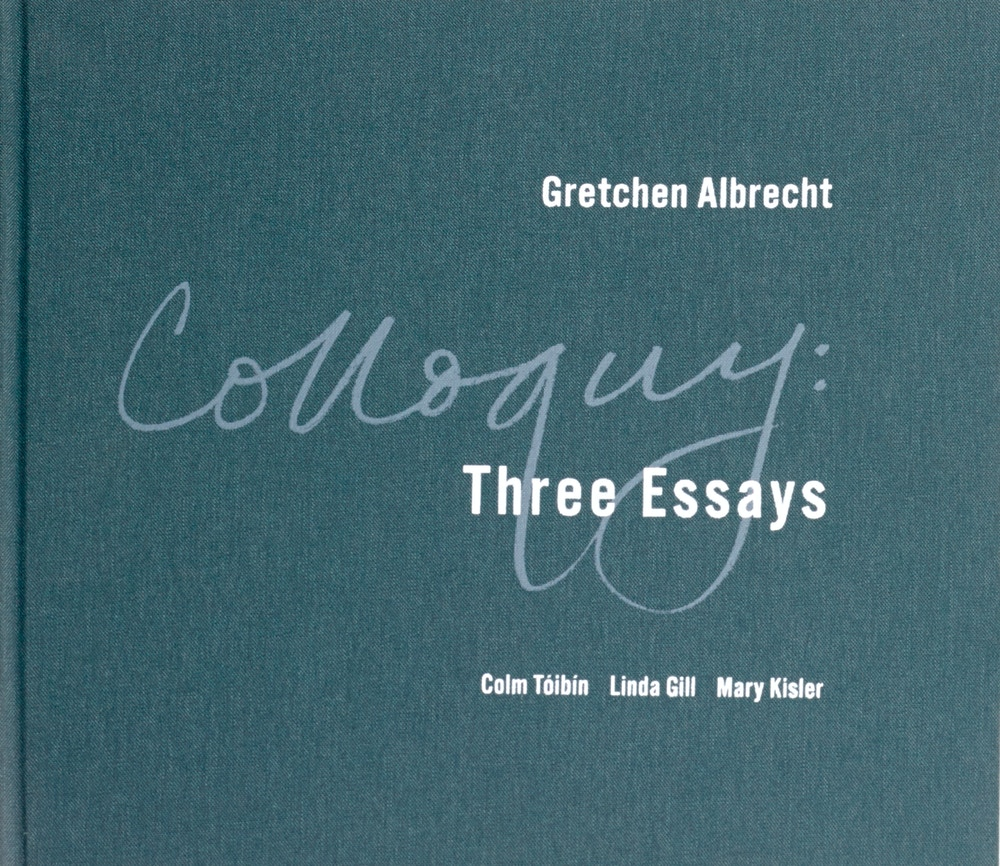 Gretchen Albrecht Colloquy Three Essays 2015 Image courtesy of artist