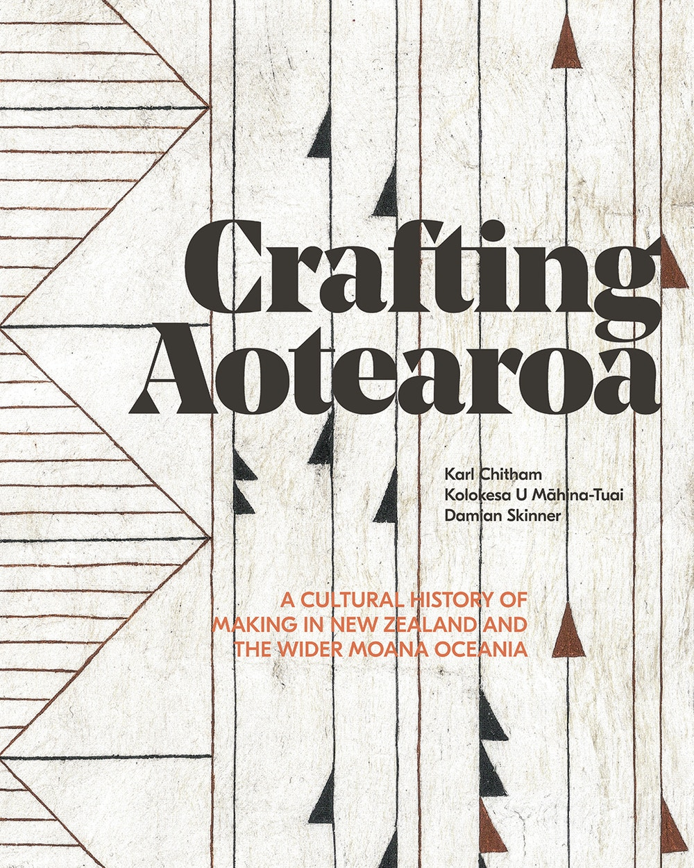 Te Papa Press Crafting Aotearoa cover art